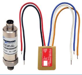 Pressure sensor decoder with pressure sensor (g 1/4 thread)