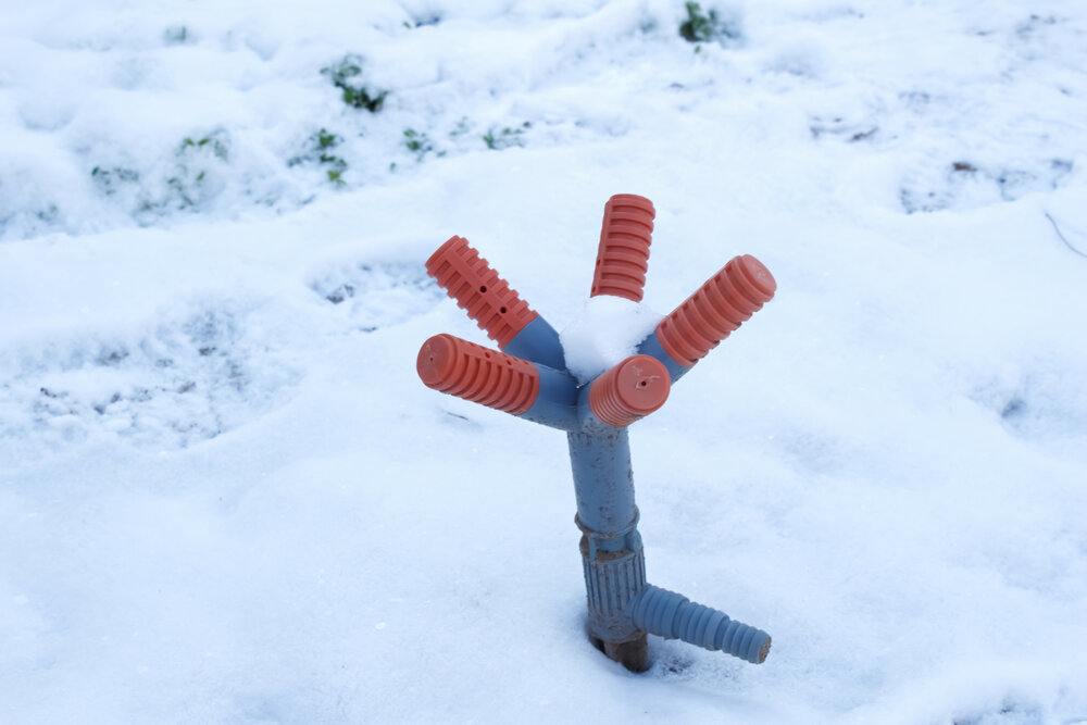 How to Winterize Your Irrigation System Via the Blowout Method